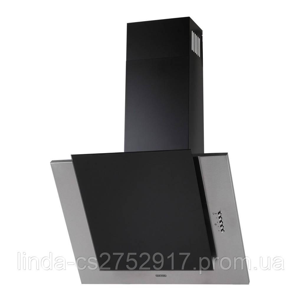 Кухонна витяжка ELEYUS Titan A 800 LED SMD (нержавіюча сталь, чорне скло)