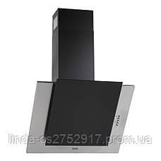 Кухонна витяжка ELEYUS Titan A 800 LED SMD (нержавіюча сталь, чорне скло), фото 2