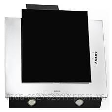 Кухонна витяжка ELEYUS Titan A 800 LED SMD (нержавіюча сталь, чорне скло), фото 3