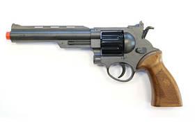Игрушечный пистолет на пульках Edison Giocattoli Ron Smith 28см 8-зарядный с мишенью