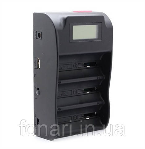 TrustFire TR-008 - универсальное зарядное устройство для Li-Ion аккумуляторов 26650/32650 + Power bank