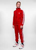 Спортивный костюм в стиле Adidas - Line, Red