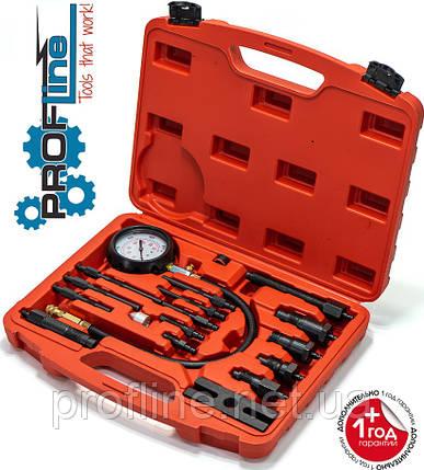 Компрессометр для дизельных двигателей грузовых автомобилей Profline 31020-1, фото 2