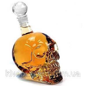Графин в форме Черепа «Crystal Skull» (1 л) большой, фото 2