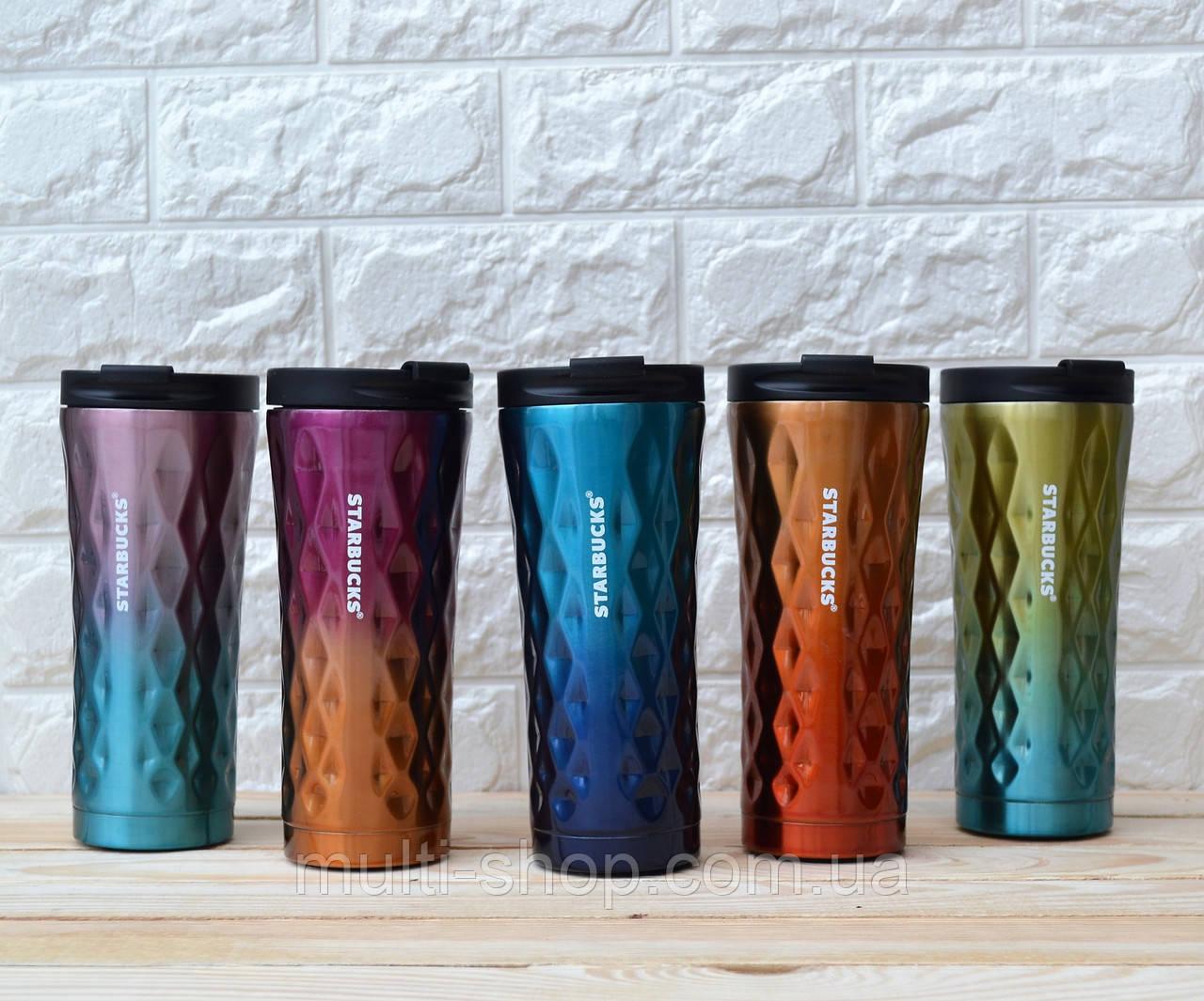 Термокружка реплика Starbucks 500 colorful реплика старбакс