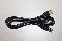 Кабель для Принтера (AM/BM) USB 1.5 метра  чёрный, фото 1
