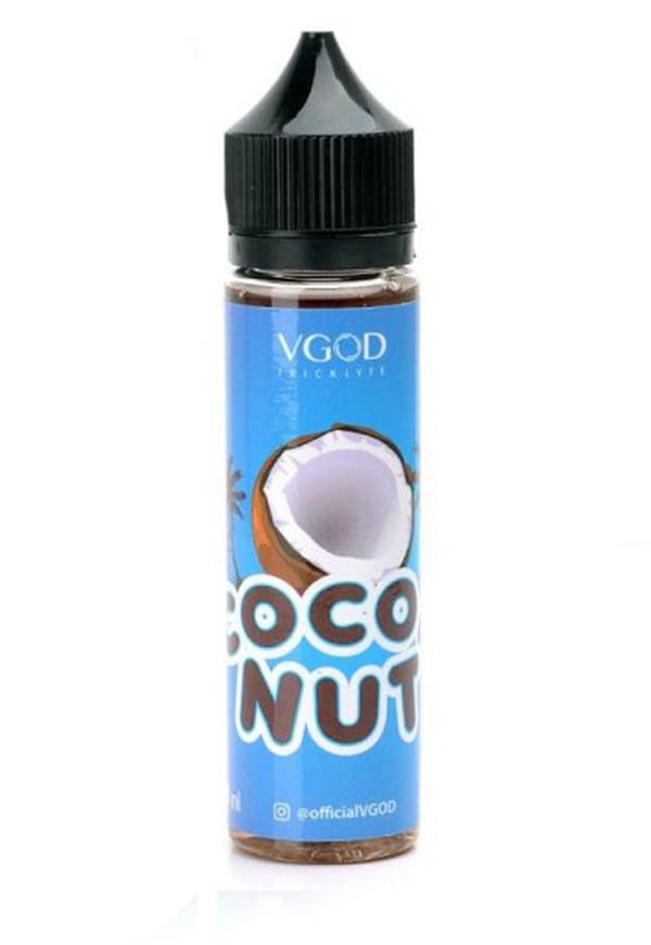 Премиум жидкость Vgod Cocoa Nut 60 ml 0 mg