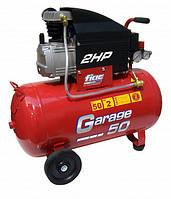 Компрессор поршневой прямоприводный GARAGE 50 (ресивер 50 л/ пр-сть 170 л/мин) FIAC 1129981003 (Италия)