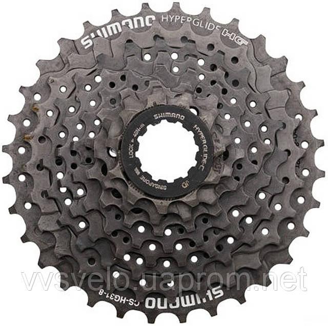 КАССЕТА SHIMANO CS-HG31 11-32 8 для велосипедов, фото 1