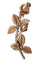 Декор для памятника квіти з бронзи Caggiati 29132/14*7