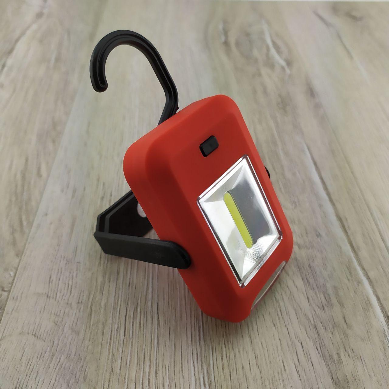 Кемпінговий ліхтар Світильник з гаком для підвішування світлодіодний ліхтарик з магнітом для будинку рибалки