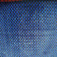 Автоткань для обшивки автосалонов машин ширина 150 см сублимация 0371-синий