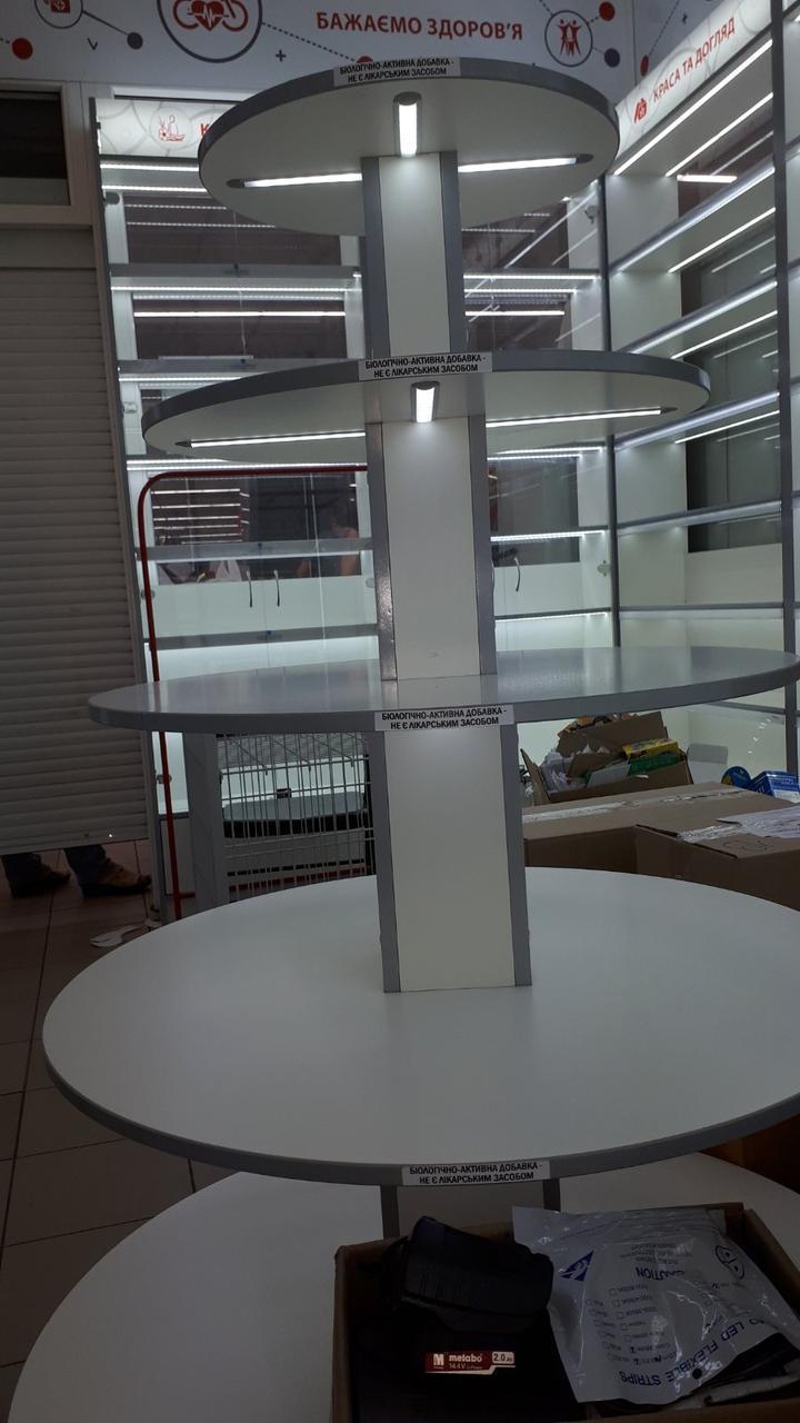 Мебель для магазинов, аптек, с светодиодной подсветкой Mebeldkdom в Днепре