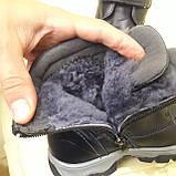 Зимние сапожки детские из натуральной кожи на цегейке размеры 28 сапожки, ботинки, фото 9
