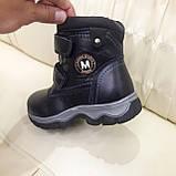 Зимние сапожки детские из натуральной кожи на цегейке размеры 28 сапожки, ботинки, фото 10