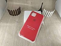 Оригинальный силиконовый чехол для Iphone 11 Pro Max Soft Touch - красный