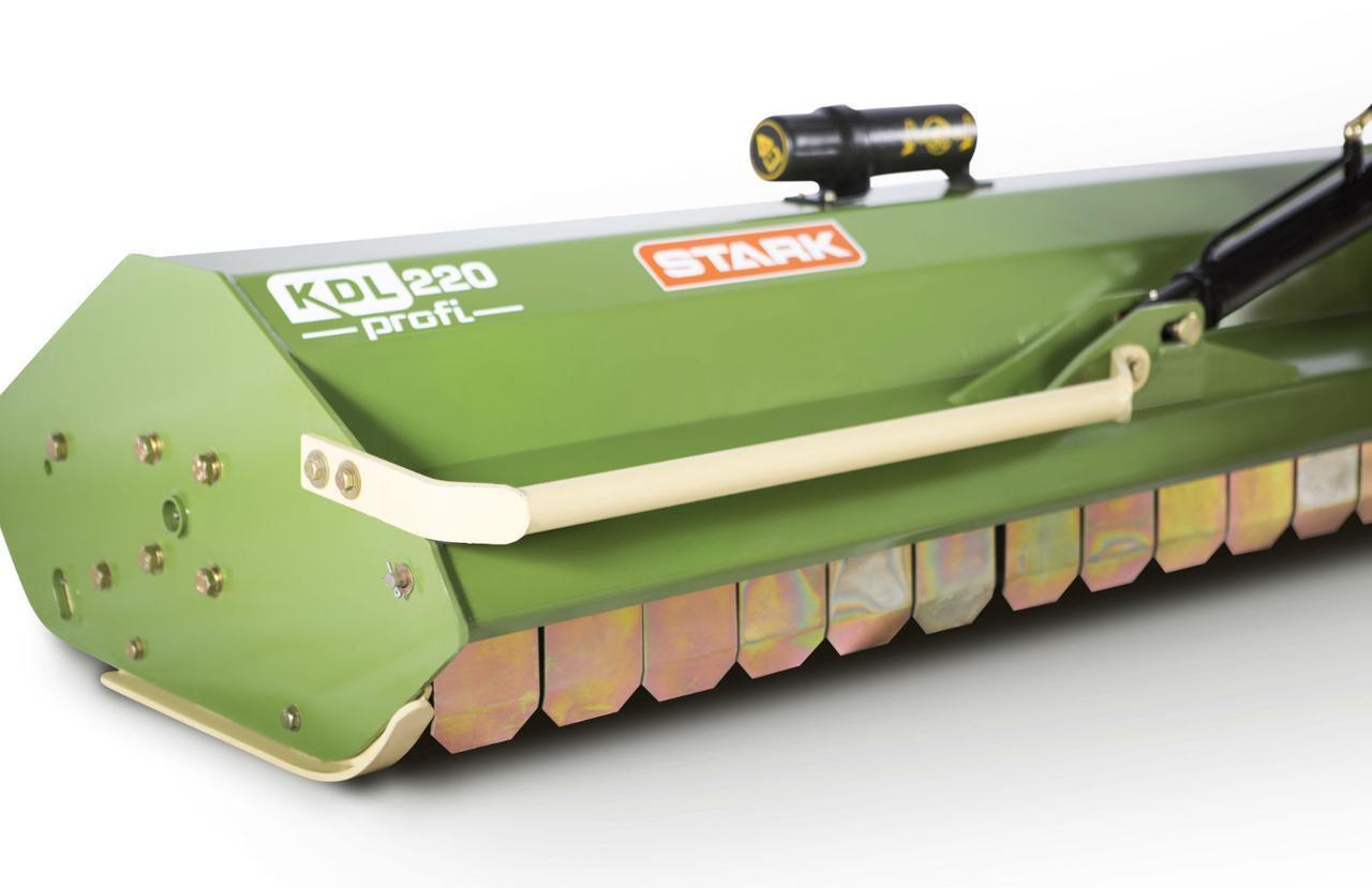 Мульчирователь KDL 200 Profi STARK c гидравликой (2,0 м, молотки, вертикальный подъем)