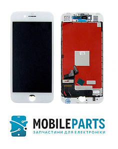Дисплей для телефона Apple iPhone 7 с сенсорным стеклом (Белый) Оригинал