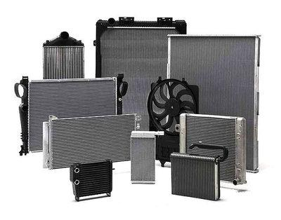 Радиаторы для автомобилей, тракторов и комбайнов (охлаждения, отопителя)
