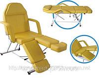 Кресло педикюрно-косметологическое 3х-секционное S-813A, Кушетка косметологическая, Педикюрное кресло