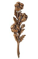 Бронзова квітка пам'ятник G 29448/21*6,5