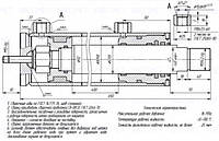Гидроцилиндр ГЦ 80.50.400.650.М12.Ш70 / КО-440.2.16.50.060 домкрата мусоровозов КО-440