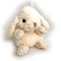Мягкая игрушка Буковски маленький зайчик KANINI, 15см Белый