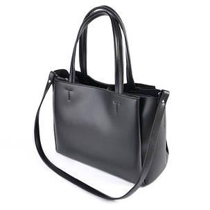 Женская деловая сумка М222-34/замш, фото 2