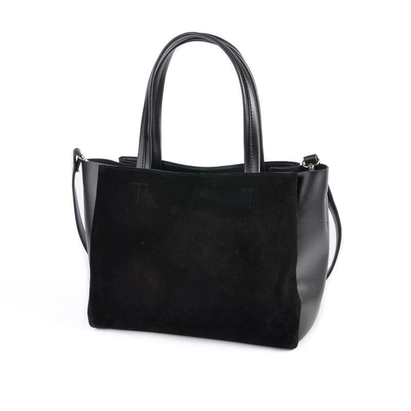 Женская деловая сумка М222-34/замш
