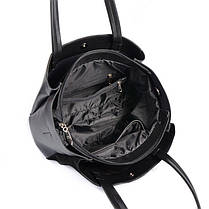 Женская деловая сумка М222-34/замш, фото 3