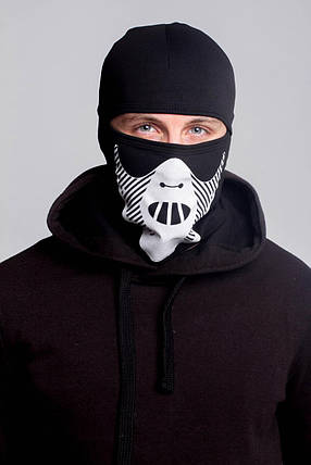 Зимняя балаклава маска с рисунком Ганнибал (на флисе), фото 2