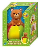 6527 Детская игрушка Неваляшка Медвежонок MOMMY LOVE-ELECTRONIC