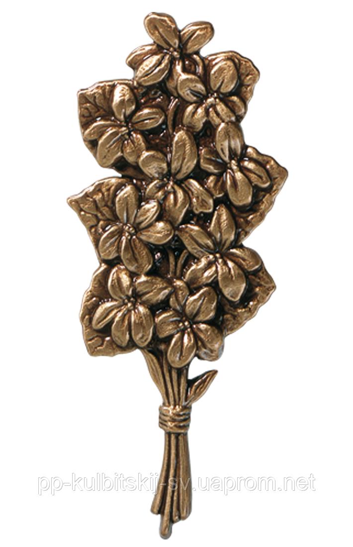 Декор для памятника квіти з бронзи Caggiati 29483/16*7