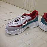 Кроссовки подростковые для девочки размер 34, фото 2