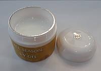 Гель для наращивания ногтей ALL SEASON №1(white), 60 гр