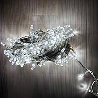 Гирлянда светодиодная нить 200 LED белая, фото 1