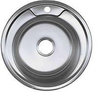 Мойка Platinum 490х490 из нержавеющей стали
