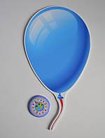 Шарик цветной среднего размера. Настенная декорация для детского сада., фото 1