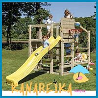 Детские спортивные деревянные комплексы для улицы Blue Rabbit CROSSFIT