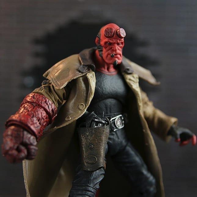 Фигурка Хеллбой - Hellboy, The Golden Army, Mezco HB Series 2