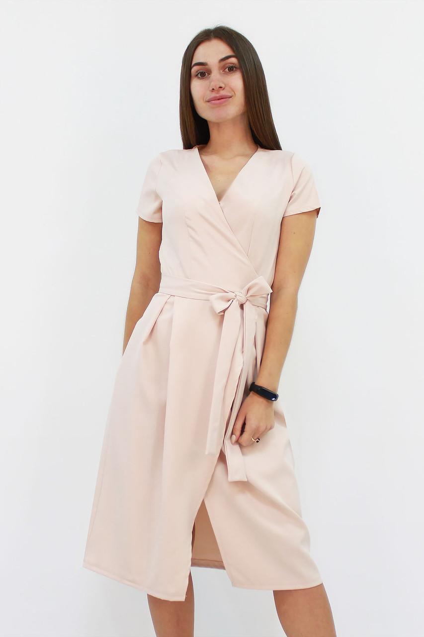S, M, L | Вишукане плаття на запах Meredis, бежевий