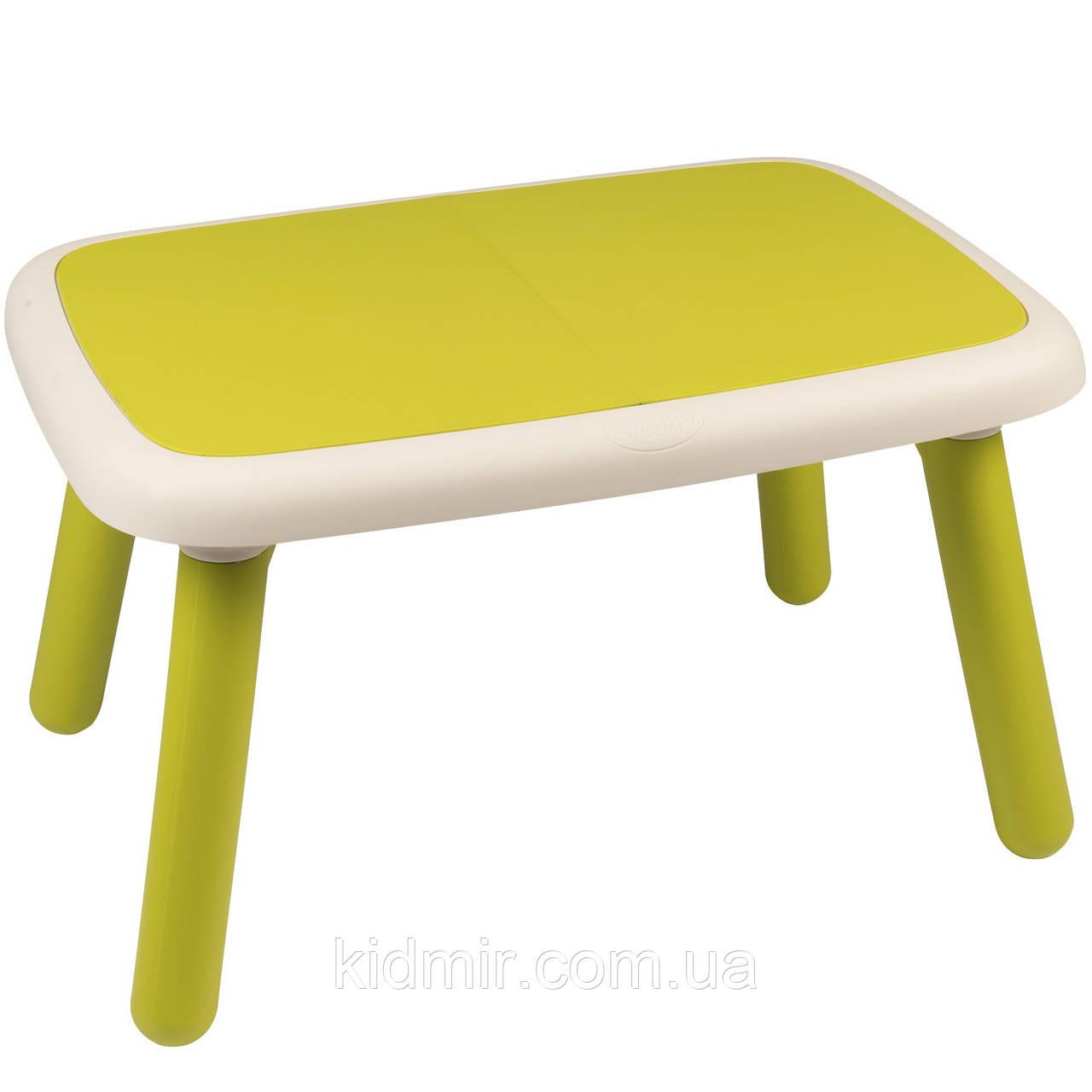 Столик детский, зеленый SMOBY 880401