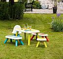 Столик детский голубой SMOBY 880402, фото 4