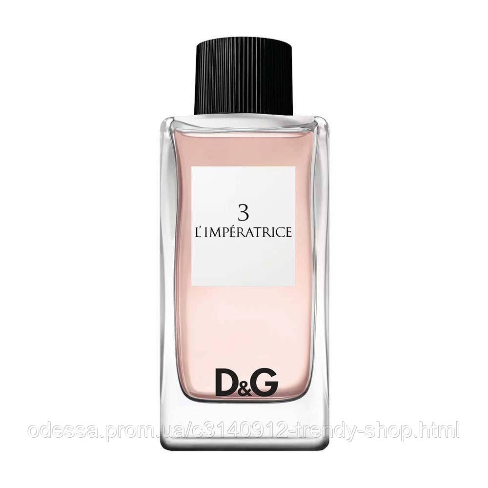 Женская туалетная вода Dolce&Gabbana 3 L'Imperatrice 100 ml