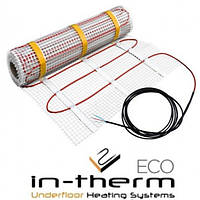 Двужильный нагревательный мат 2790W 13,9м2 IN-THERM ECO PDSV 20 Fenix