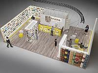 Дизайн выставочных стендов, декораций, площадок., фото 1
