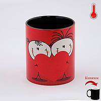 Чашка хамелеон Влюбленные ко Дню Влюбленных, фото 1