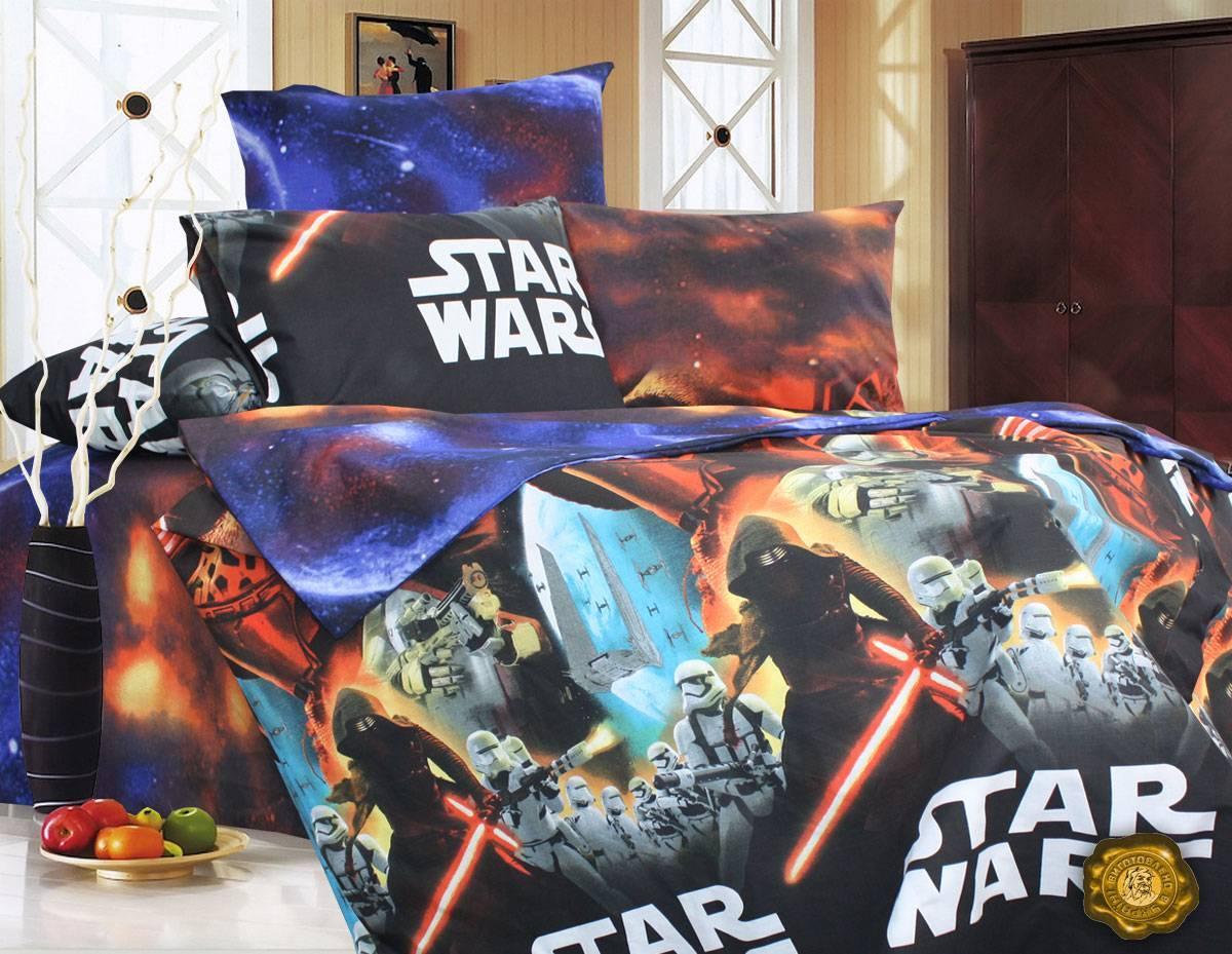 Детское полуторное постельное белье Star Wars