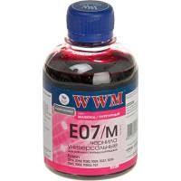 Чернила WWM Epson Stylus Universal, Magenta, 200 г (E07/M)