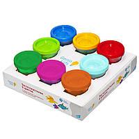TA1045 Набор для детской лепки  «Тесто-пластилин 8 цветов» 8 шт в коробке GENIO KIDS